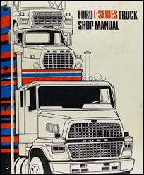 1983 ford l series foldout wiring diagram ltl9000 l800 l8000 l9000 related items