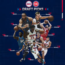 We've had 9 Detroit Pistons draft picks ...