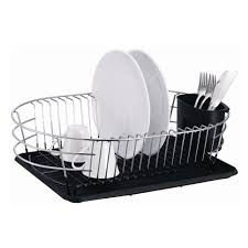Extra Large Metal Wire Dish Rack with Drain Board - Free Shipping On Orders  Over $45 - Overstock.com - 16602831
