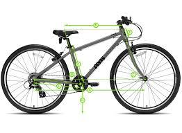 Qr Bike Size Chart Frog 69