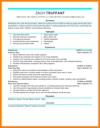 Esthetician Resume Generous Esthetician Resume Sample Photos Example Resume Ideas 68