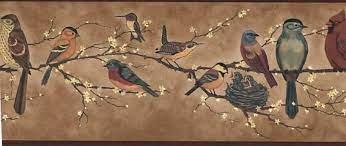 Wallpaper border, Bird wallpaper, Wallpaper