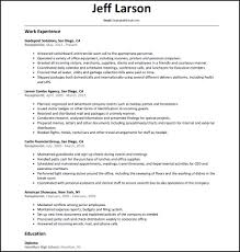 Perfect Job Resume Example Perfect Job Resume Example Commonpenceco Resumes Example Best 64