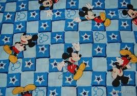 Mickey Mouse Disney Magic Star Patch Cotton Fabric Quilt Fabric RPC281 &  Adamdwight.com