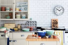 Small Picture Vintage Style Kitchen Designs Shabby Chic Wallpaper Ideas