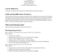 Office Job Resume Resumes For Office Jobs Cover Letter Post Job