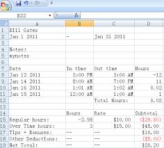 Excel Time Clock Magdalene Project Org