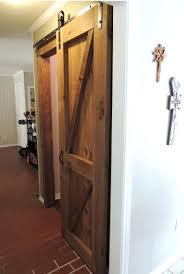 barn door style interior doors closet appealing sliding kit glass locks  full .