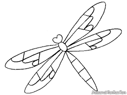 Superb Dragonfly Coloring Pages 6 Free