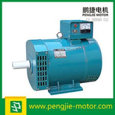 Hot Sale 7kw St Stc Series AC Single Bearing Synchronous Brush Generator Alternator