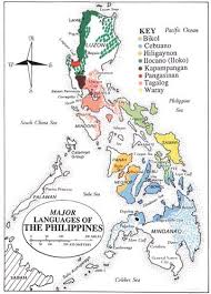 Philippine Languages Comparison Chart Major Languages Of The Philippines