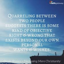 Mere Christianity Quotes Awesome Discussing Mere Christianity Our Sense Of Right And Wrong