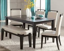amazing of dining table set with bench ashley furniture kitchen tables trishelle contemporary dining