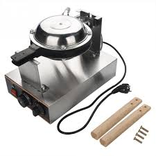 220v Commercial Electric Egg Cake Oven Puff Bread Maker Stainless