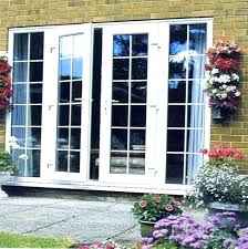 cost to install patio replace sliding glass door replacement french doors interior ins