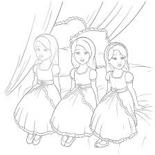 Free Barbie Printable Coloring Pages Betterfor
