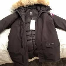 Canada Goose Jacket - Mens Langford Parka Fusion Fit in Black (Brand New,  Hologram ...