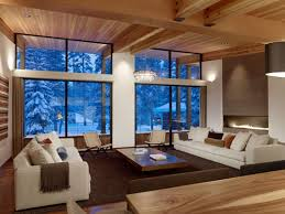 wooden walls and ceiling design are green ideas for modern eco homes