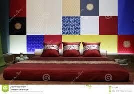 Modern Asian Bedroom Modern Asian Style Bedroom Stock Photo Image 2219780