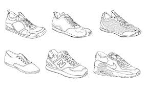 shoes drawing designs. shoes drawing designs
