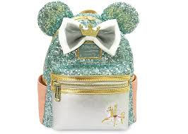 Disney Minnie Mouse Main Attraction July King Arthur Carrousel Mini Backpack  -