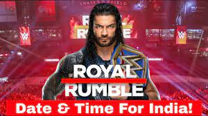 WWE Royal Rumble 2021 Date & Time For India! WWE Royal 2021 Schedule For  India! - YouTube