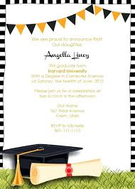 Graduation Party Template Sample Graduation Party Invitation Awesome