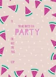 Party Invitations Watermelon Party Invitations Party Affair