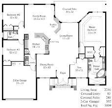 4 bedroom house plans open floor plan 4 bedroom open house