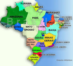 Bildergebnis für mapa brasil