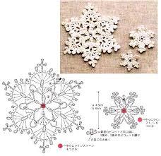 Crochet Snowflake Pattern Chart Crochet Snowflake Charts Crochet Snowflake Pattern