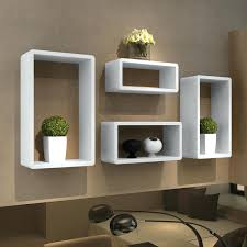 Floating Cube Shelves Uk Wall Cubes Shelves White 38