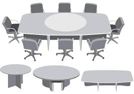 round table meeting vector free vector art stock graphics images