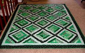 Free Quilt, Craft and Sewing Patterns: Links and Tutorials *With ... & and offers to share my free St. Paddy's Day quilt or quilt block patterns  with you! Shown is a simple string quilt, ... Adamdwight.com