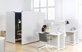 Internal office pods Person Meeting Contemporary Office With Light Coloured Office Screens Solutions Office Office Pods Acoustic Office Pods Office Booths
