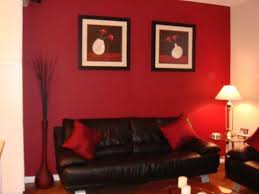 Red And Black Room  Homes ZoneRed Black Living Room Decorating Ideas