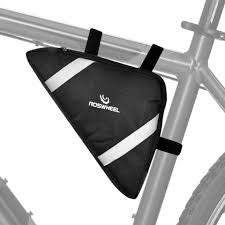 roswheel cycling bicycle bike bag top triangle bag front saddle frame pouch outdoor