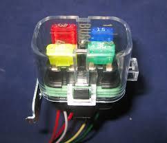 aim sports dash connector dash side plug go fast bike parts ATM Mini Fuses That Light Up sealed atm fuse box � sealed atm fuse box