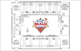 Complete Lahaina Civic Center Seating Chart 2019