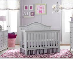 grey furniture nursery. Convertible Crib Grey Furniture Nursery
