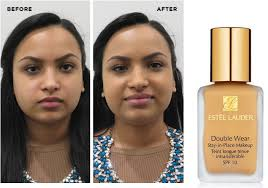 estee lauder double wear i absolutely loved the texture of this foundation matte with great coverage