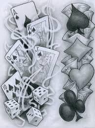 Tattoos Casino Designs Flash Tattoo 77 Card Tattoo Designs Card Tattoo Vegas Tattoo