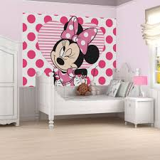 Minnie Mouse Wallpaper For Bedroom Minnie Mickey Mouse Wall Decorations Graham Brown