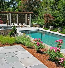 Pool Backyard Design Ideas Best 48 Pool Landscaping Ideas Create The Perfect Backyard Oasis Beyond