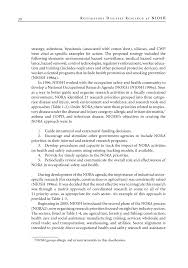 introduction respiratory diseases research at niosh reviews  page 20