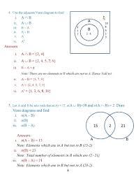 Online Venn Diagram Practice Number Sets Venn Diagram Math 4 Set Diagram Questions Sample Spaces