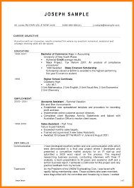 9 Account Resume Format Time Table Chart