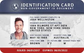 The Identification Inc Non-government Services Card Of Idl