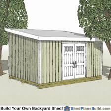 garden sheds plans. 12x20 Lean To Shed Plans Garden Sheds