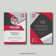 Id Card Templates Free Id Card Template Free Vector Id Card Template Vector